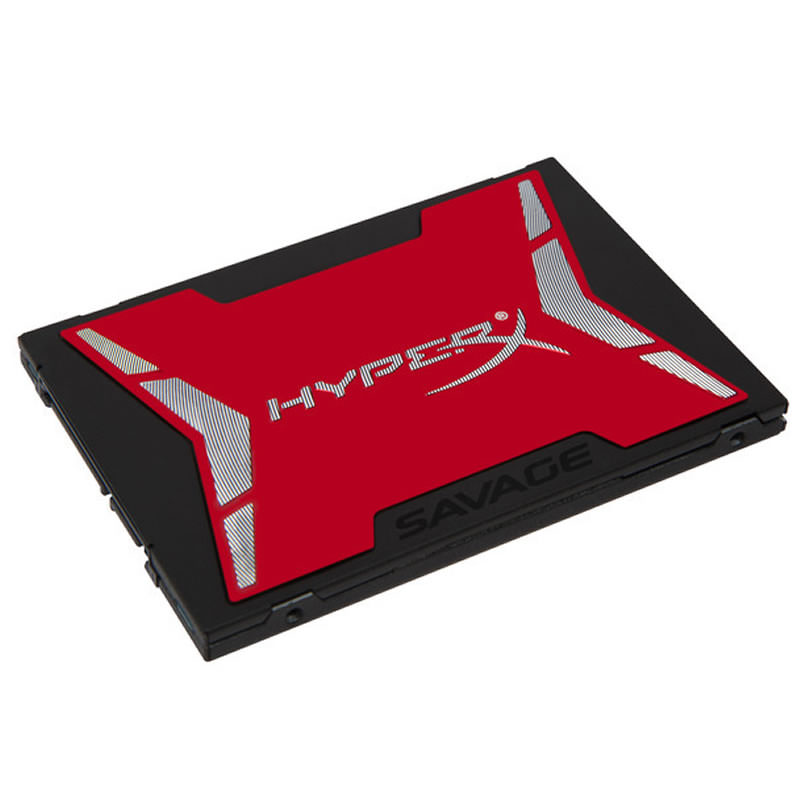 SHSS37A/120G - DISCO DURO SOLIDO SSD KINGSTON 120GB HYPERX SAVAGE SATA3