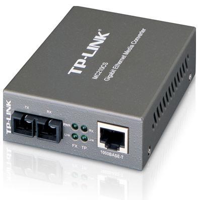 MC210CS - CONVERTIDOR DE MEDIOS TP-LINK DE RJ45 A FIBRA MONO