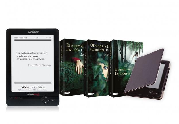 D01EB0088 - E-BOOK WOLDER MIBUK ILUSION PEARL 6' + TRI BATZAN