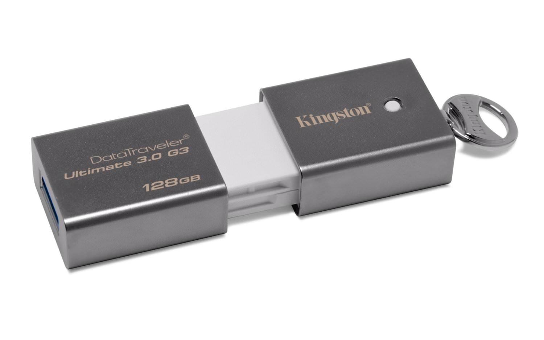 DTU30G3/128GB - PEN DRIVE 128GB KINGSTON DATATRAVELER G3 3.0
