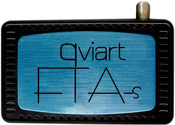 QVI01007 - SINTONIZADORA SATELITE FTA-S QVIART MINI (FREE TO AIR)