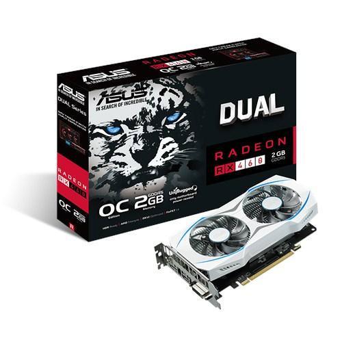 90YV09L2-M0NA00 - SVGA AMD ASUS RX460-O2G 2GB GDDR5 DVI-HDMI