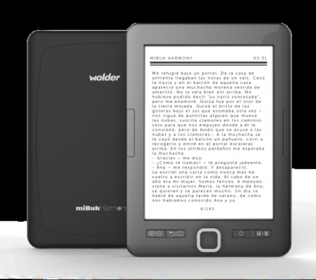 D01EB0091 - E-BOOK WOLDER MIBUK HARMONY 6'