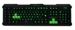 F100S - TECLADO KEEP OUT F100 GREEN BACKLIGHT