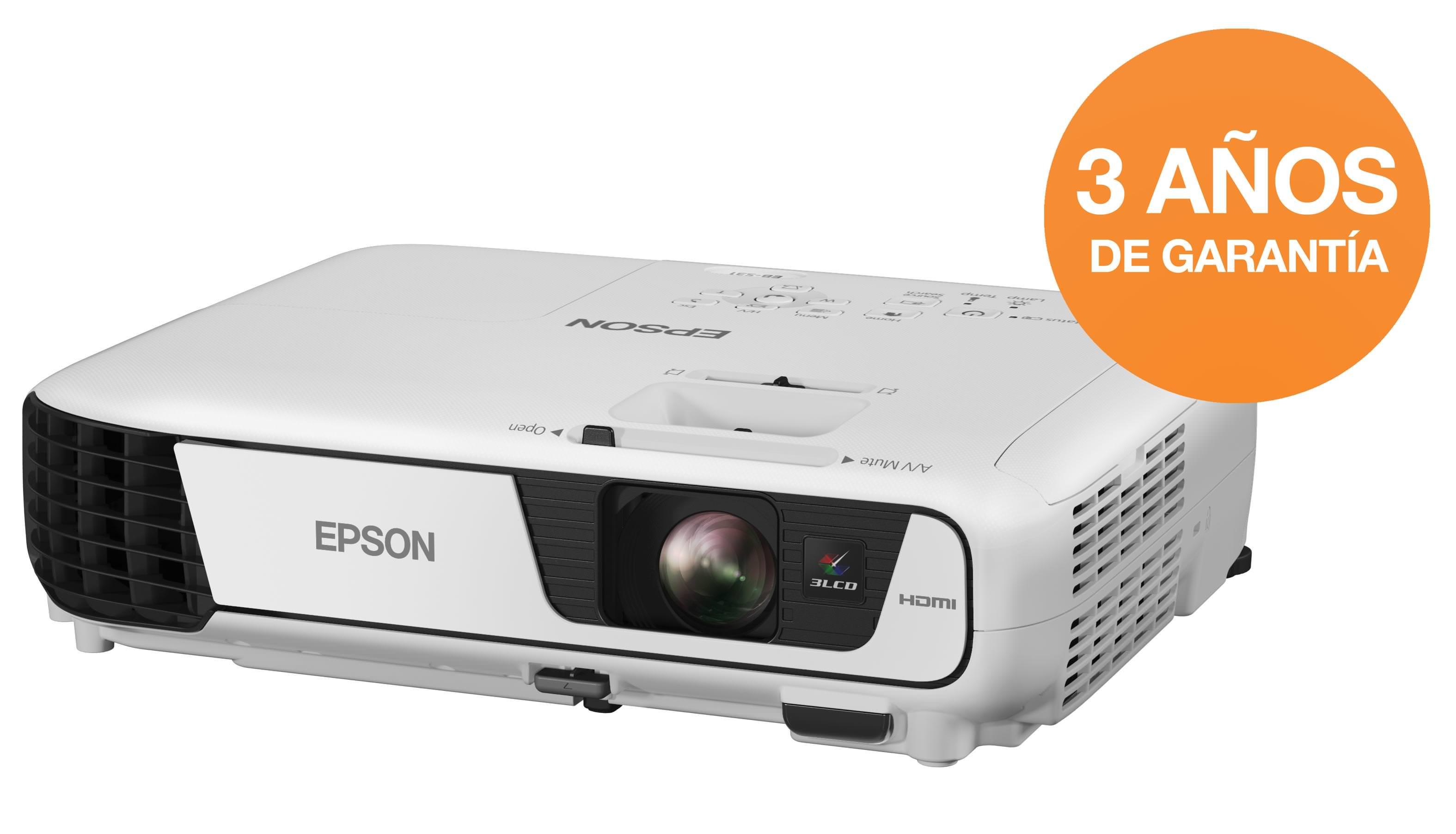 V11H719040 - PROYECTOR EPSON EB S31 3200LUM SVGA VGA-HDMI