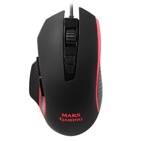 MM018 - RATON MARS GAMING MM018 USB 4800 DPI RGB