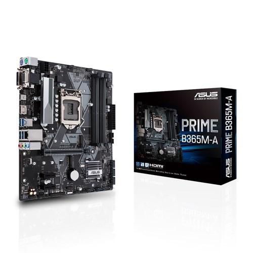 90MB10N0-M0EAY0 - PLACA BASE 1151 ASUS PRIME B365M-A MATX-4XDDR4-USB 3.1