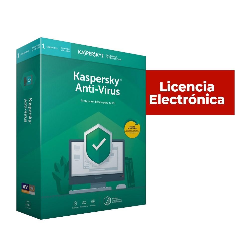 KL1171SCADS - ANTIVIRUS ESD KASPERSKY 1 US 2 AÑOS LIC ELECT