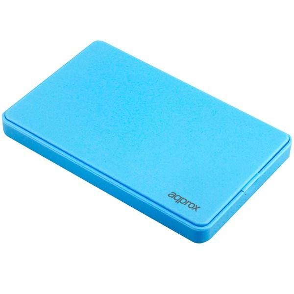APPHDD200LB - CAJA EXTERNA HDD 2.5' SATA-USB 2.0 APPROX AZUL CLARO
