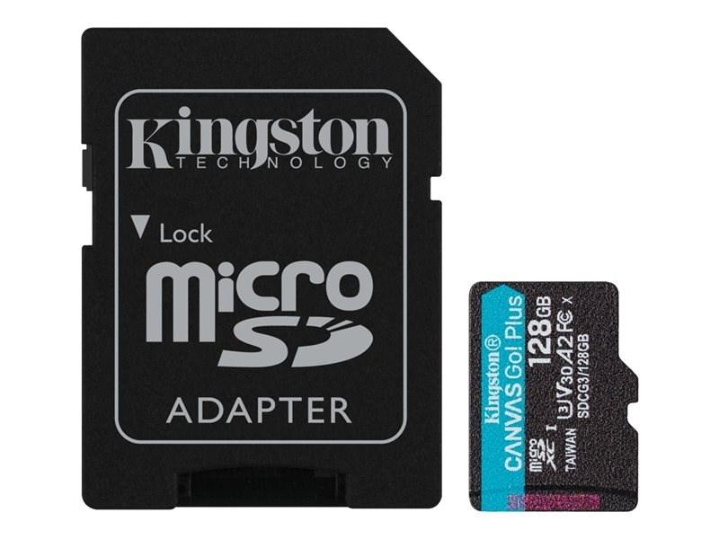 SDCG3/128GB - MEMORIA MICRO SD 128GB KINGSTON CANVAS GO! PLUS