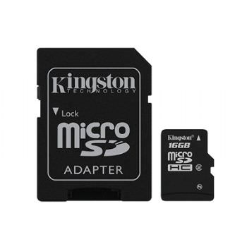 MEMORIA MICRO SD 16GB KINGSTON 1ADAP