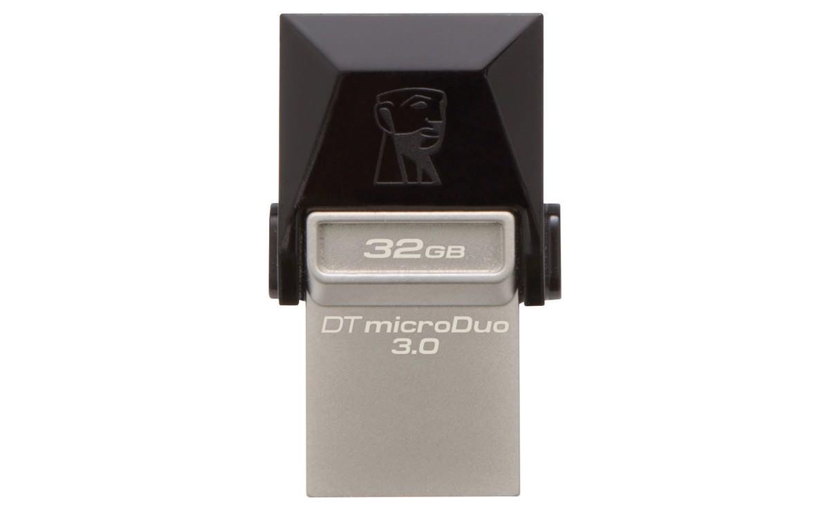 PEN DRIVE 32GB KINGSTON USB 3.0+MICROUSB NEGRO