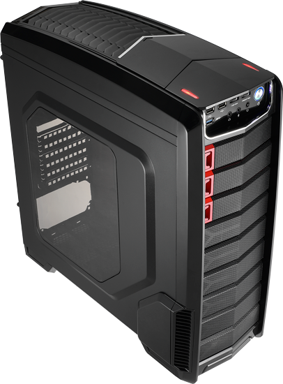 CAJA ATX AEROCOOL GT-A RED-BLACK EDITION USB 3.0