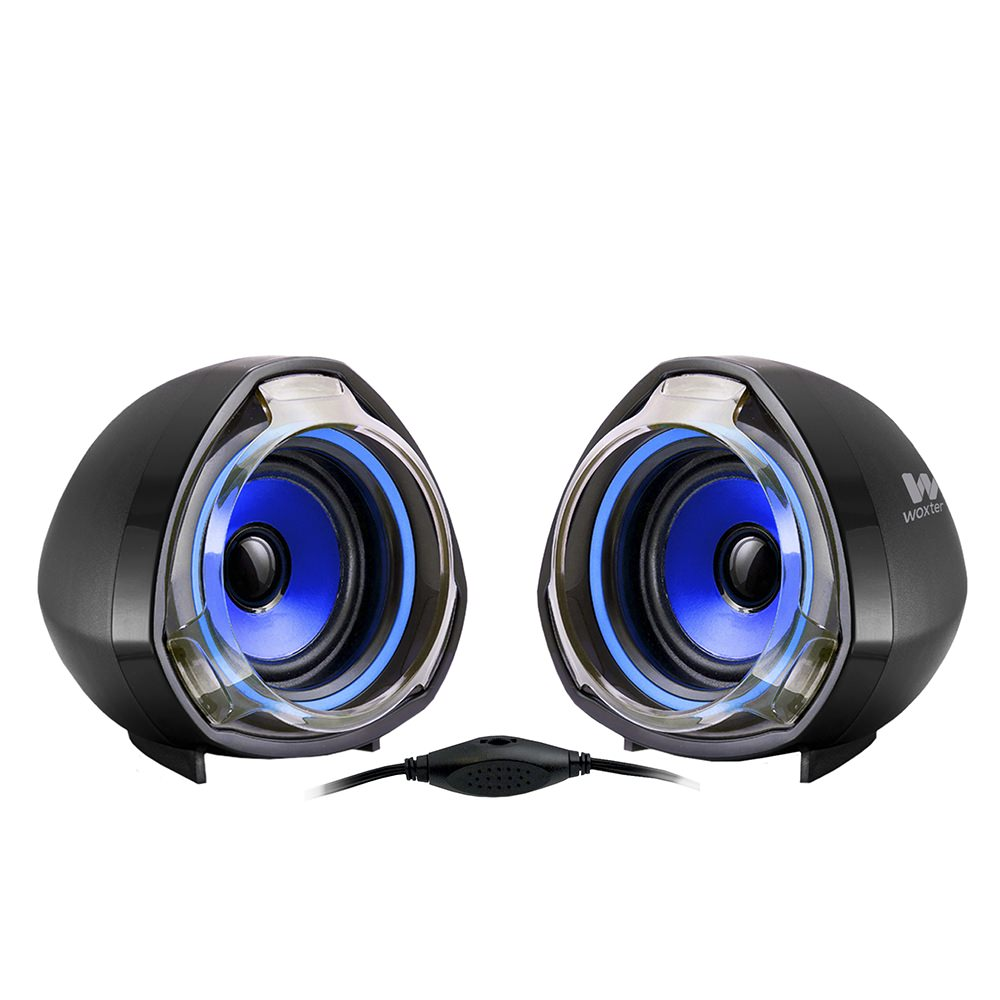 SO26-055 - ALTAVOCES WOXTER 2.0 BIGBASS 70 USB AZUL