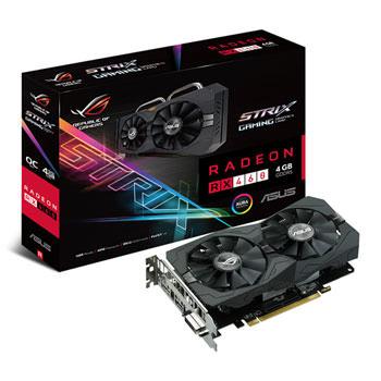SVGA ATI RADEON ASUS RX470-4G GAMING 4GB GDDR5 DVI