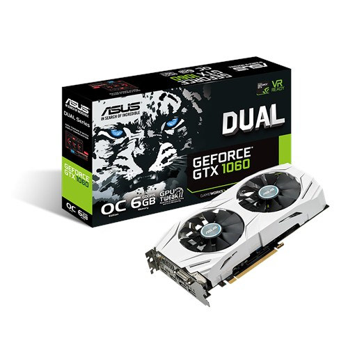 SVGA GEFORCE ASUS DUAL GTX1060-O6G 6GD5