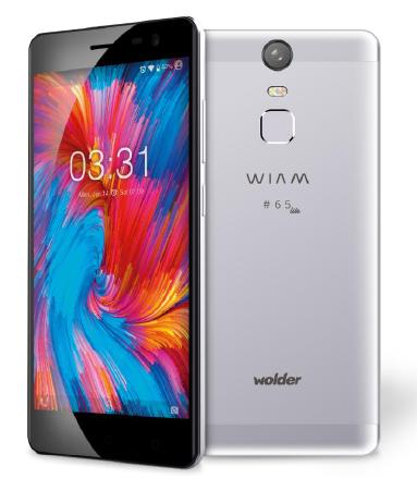 D01SP0065 - TELEFONO MOVIL WOLDER WIAM #65 LITE 4G 5'-OC1.25-2GB-16GB