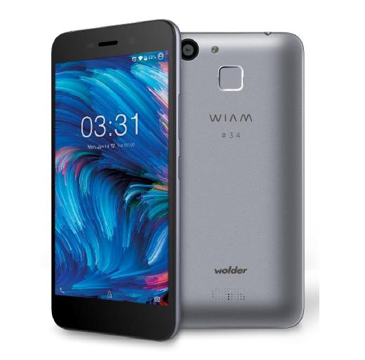 D01SP0061 - TELEFONO MOVIL WOLDER WIAM #34 4G 5'-QC1.3-2GB-16GB NFC FINGER