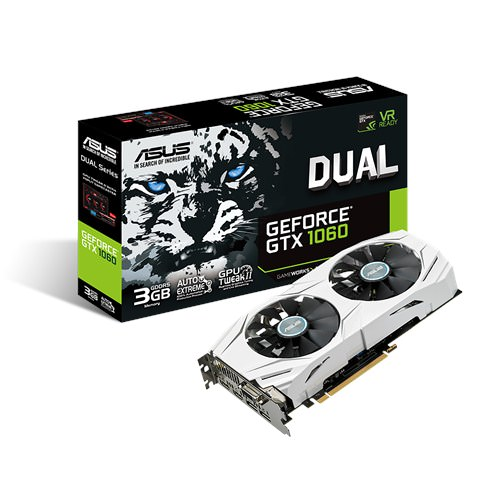 SVGA GEFORCE ASUS STRIX GTX1060-3G