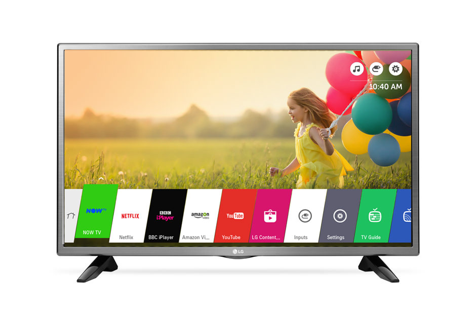 32LH570U - TELEVISION 32' LG 32LH570U LED HDREADY SMART TV WIFI TDT2