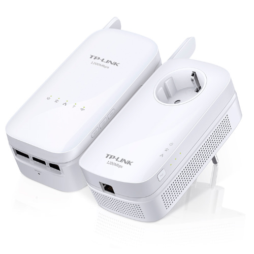 TL-WPA8630KIT - ADAPTADOR RED TP-LINK KIT 2X PLC AC1200 AV500