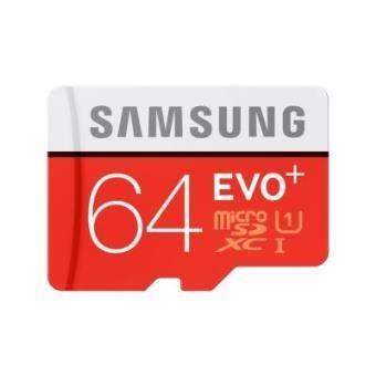 MEMORIA MICRO SD 64GB SAMSUNG EVO+ CLASE 10