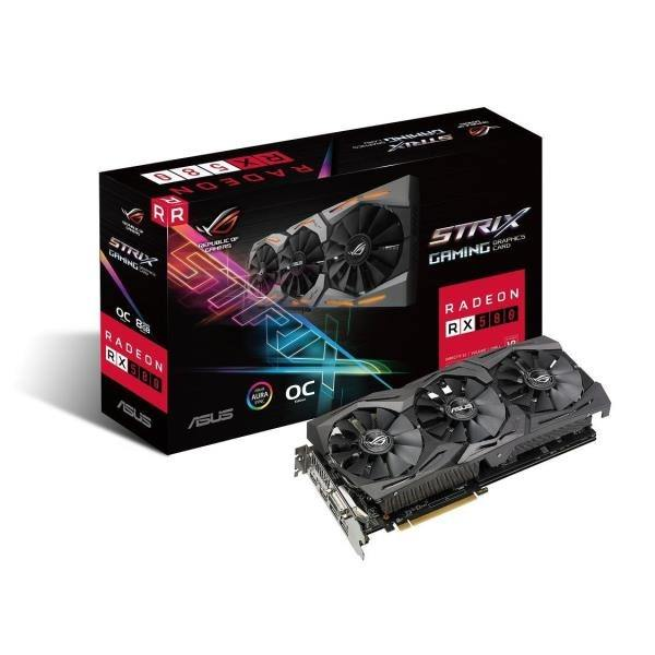 SVGA AMD ASUS DUAL RX 580-T8G 8GB DDR5
