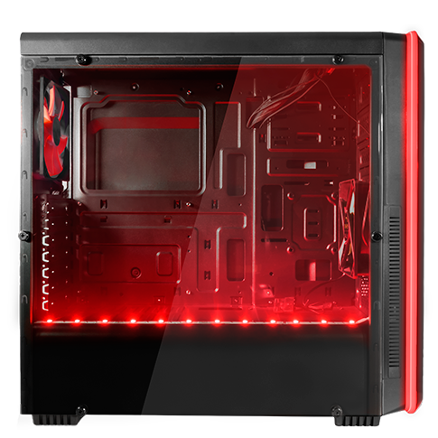 CAJA ATX MARS GAMING MC6 FRONTAL ILUMINADO