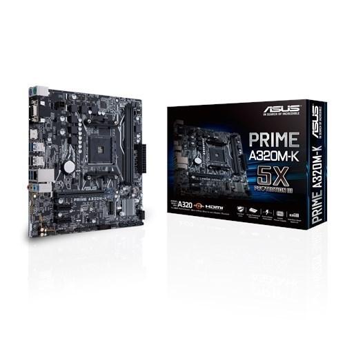 PLACA BASE AM4 ASUS A320M-K MATX-USB 3.1-HDMI-VGA