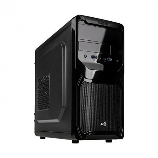 CAJA MICROATX AEROCOOL QS-183 ADVANCE COLOR NEGRO