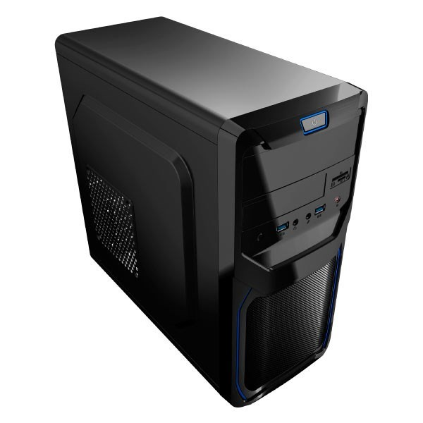 CAJA MICROATX AEROCOOL QS-183 ADVANCE COLOR AZUL