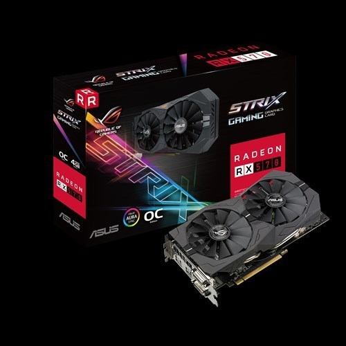 SVGA AMD ASUS STRIX RX570-O4G GAMING 4GB GDDR5