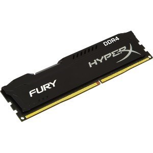 MEMORIA KINGSTON DDR4 4GB 2400MHZ HYPERX BLACK