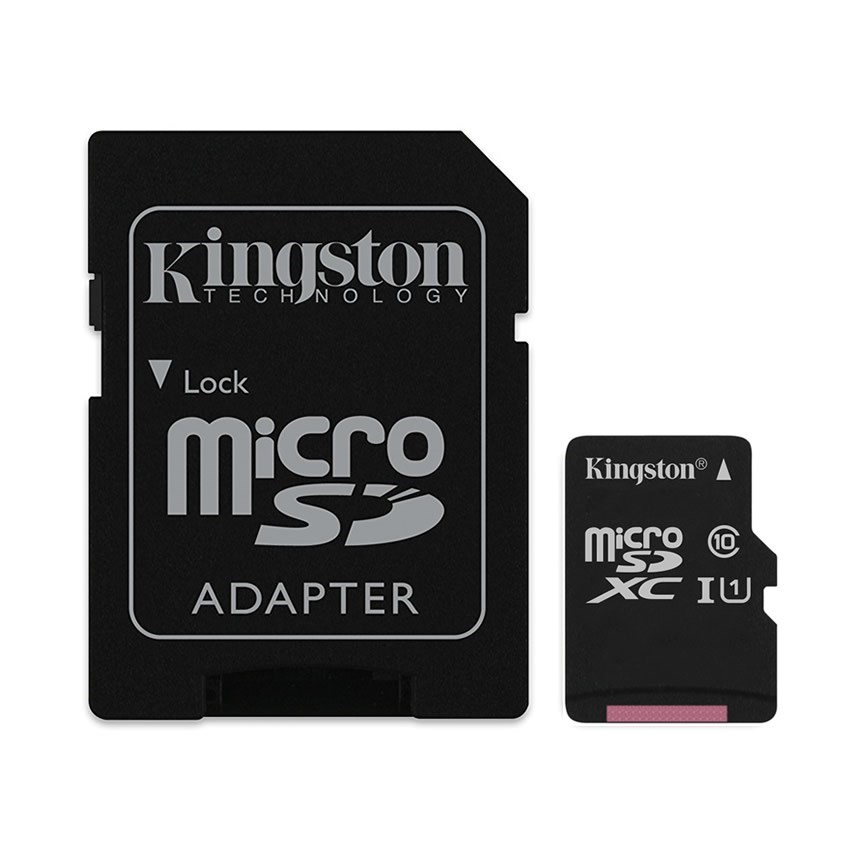 MEMORIA MICRO SD 128GB KINGSTON CLASE 10 UHS-I 80R