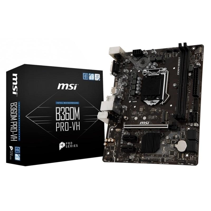PLACA BASE 1151 MSI B360M PRO-VH MATX-DDR4