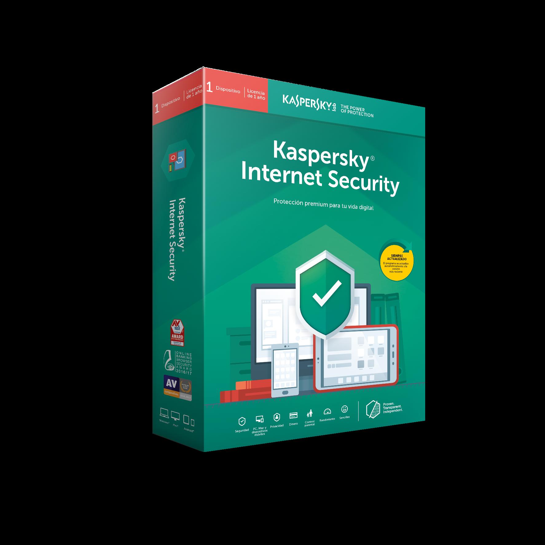 ANTIVIRUS KASPERSKY 2019 1 US INT SECURITY