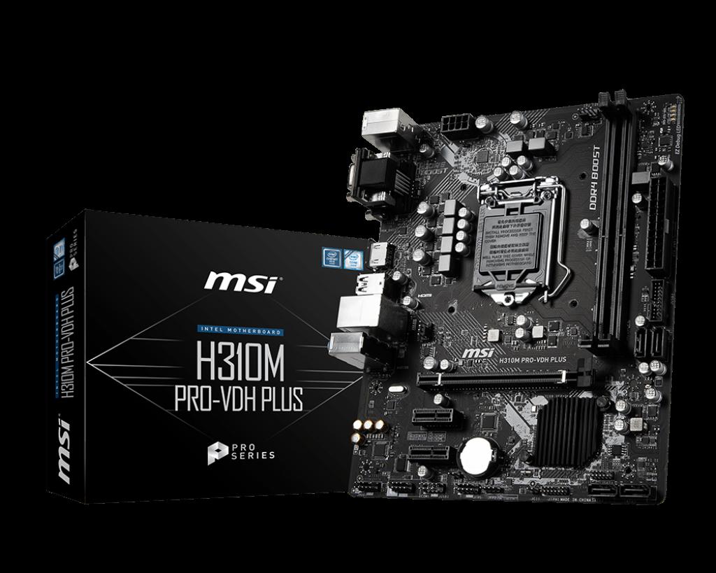 PLACA BASE 1151 MSI H310M PRO-VDH PLUS MATX-DDR4