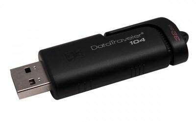 PEN DRIVE 32GB KINGSTON USB 2.0 DATATRAVELER DT104