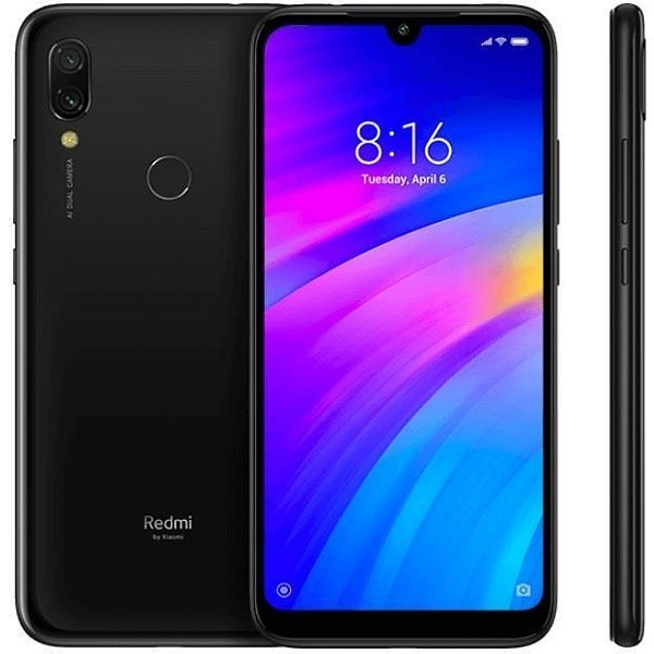 "TELEFONO MOVIL XIAOMI REDMI 7 NEGRO 6.26""-OC1.8-2GB-16GB"
