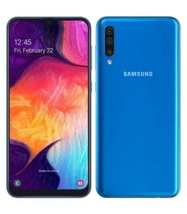 "TELEFONO MOVIL SAMSUNG GALAXY A50 AZUL 6.4""-OC2.3-4GB-128GB"