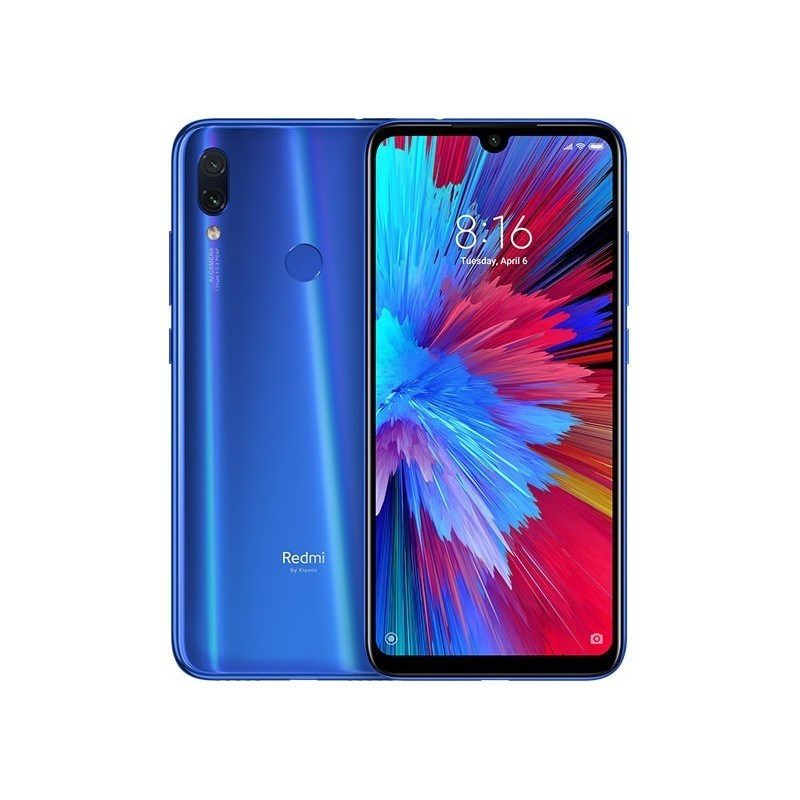 "TELEFONO MOVIL XIAOMI REDMI NOTE 7 AZUL 6.3""-OC1.95-3GB-32GB"