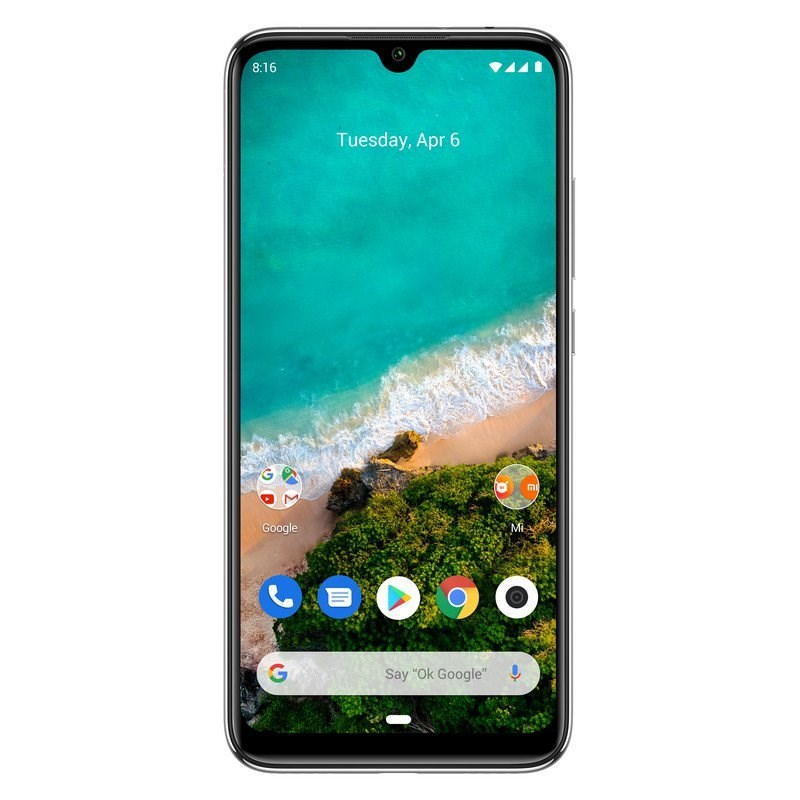 "TELEFONO MOVIL XIAOMI MI A3 BLANCO 6.08""-OC2.0-4GB-64GB"