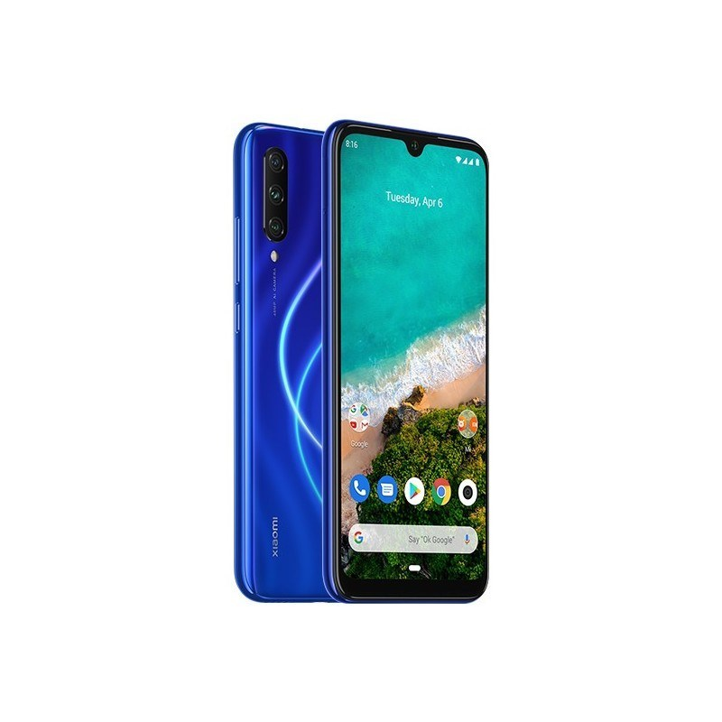 "TELEFONO MOVIL XIAOMI MI A3 BLUE 6.08""-OC2.0-4GB-128GB"