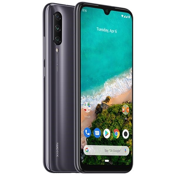 "TELEFONO MOVIL XIAOMI MI A3 GREY 6.08""-OC2.0-4GB-128GB"